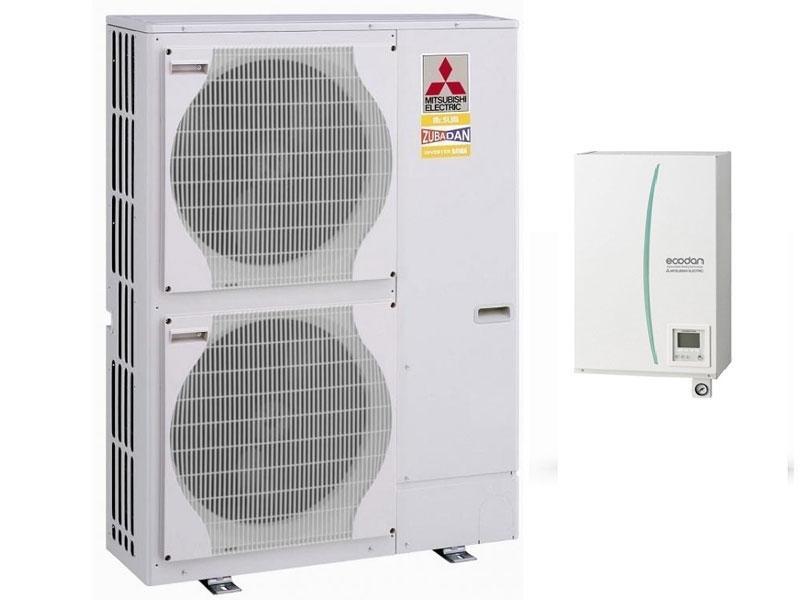 Αντλία Θερμότητας Mitsubishi ZUBADAN PUHZ-SHW112V/Y / ERSC-VM2C SPLIT (60 °C)