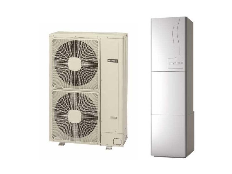 Αντλία θερμότητας  ΜΟΝΟ ΘΕΡΜΑΝΣΗ YUTAKI S80 RWH-5FSNFE / RAS-5HRNME-AF (80 °C) 3Φ/400/50Ηz
