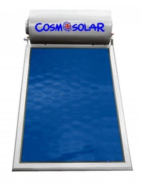 Ηλιακός Θερμοσίφωνας Cosmosolar CS-200 VS 200Lt VS GLASS Επιλεκτικός 3m² Τριπλής Ενερ.